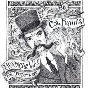 Col. Flynn's Mustache Wax